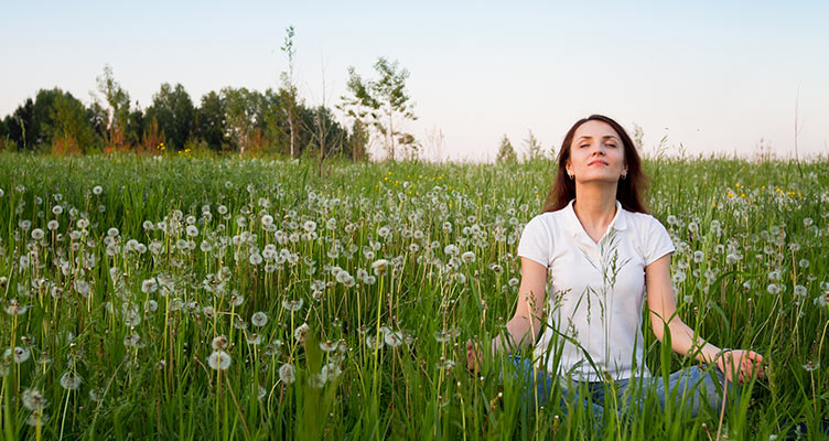 Breathing technique is important in meditation