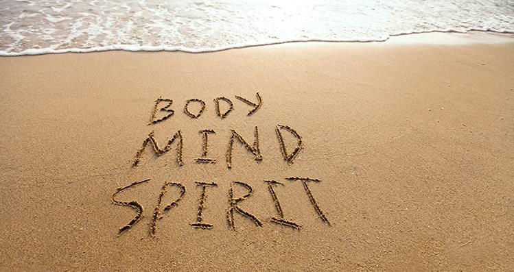 body brain and mind in meditation