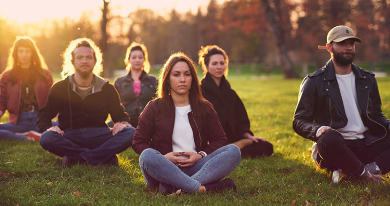Numerous benefits of meditation for body and mind are to be found on the Mindworks App