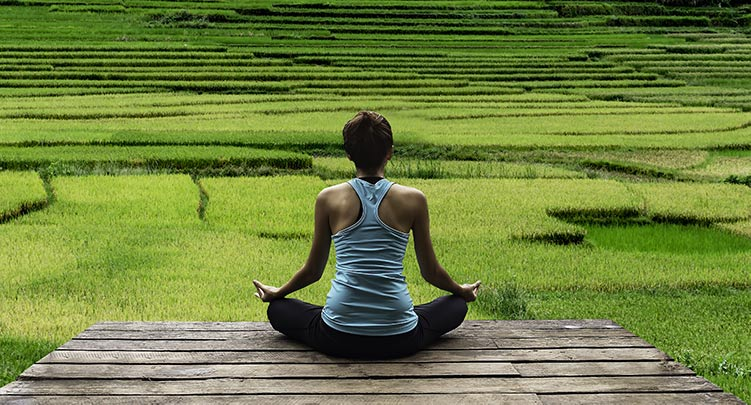 Meditation creates greater resilience to challenges