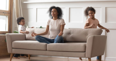 Accepting Our kids is part of meditation practice